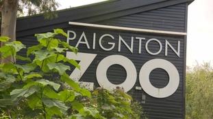 Paignton Zoo Sign