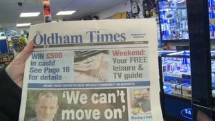 Launch of the Oldham Times