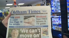 Read all about it! New newspaper launched in Oldham