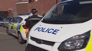 Police guard at scene in Hexthorpe in Doncaster