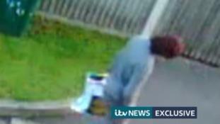 CCTV of bomb suspect