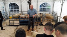 Hundreds of students attend Stranraer farming event