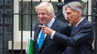Boris Johnson and Phillip Hammond.