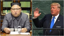 Kim Jong-un warns 'deranged' Trump will 'pay dearly' for threats