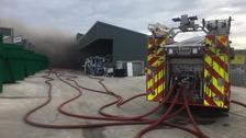 Firefighters battle La Collette blaze until midnight