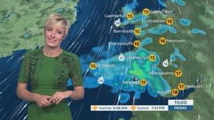 Wales weather: Bright start with heavy rain pushing in