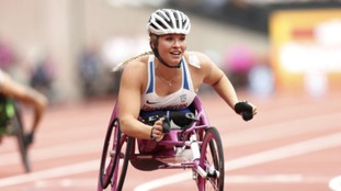 Sammi won the Women's 100m T53 Final - 2017 World Para Athletics Championships