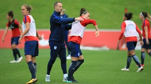 Sampson joined the England set-up from Bristol Academy.