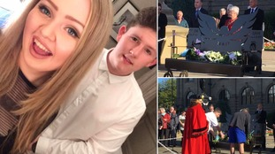 17-year-old Chloe and 19-year-old Liam were killed in the Manchester bomb attack