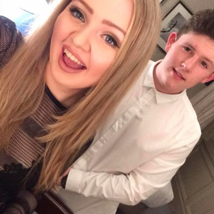 The young couple sadly died in the Manchester bombing in May