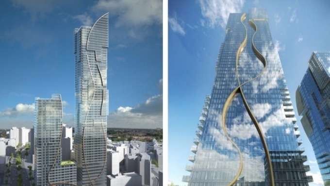 Uks Second Tallest Building To Be Built In Croydon London Itv News