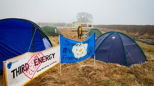 Five more charged after anti-fracking protests