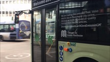 First all electric bus on trial in Manchester