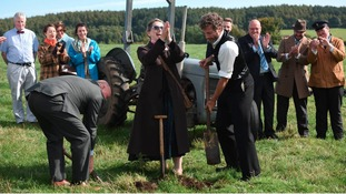A ground-breaking ceremony has taken place to mark the start of the museum's largest project in its 47 year history