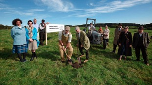 Ground has been broken on the 'Remaking Beamish' project