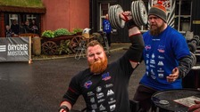 Rochdale man crowned World's Strongest Disabled Man