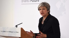 May proposes two-year Brexit transition period