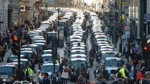 Many taxi drivers have been angered by Uber's aggressive expansion.