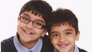Adnan Habib, 10 and Mohammed Arsalaan Habib, 4.