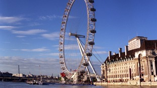The London Eye is one of London's top attractions.