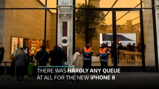 iPhone 8 and 8 Plus given subdued reception as it launches in UK
