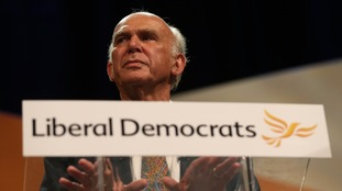 Sir Vince Cable called for Britons to be given a chance to cancel Brexit.