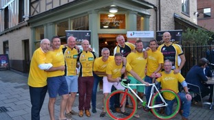 Charity cycle ride smashes it's original target