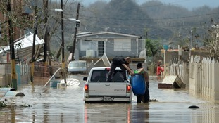 Hurricane Maria: 'Failing' dam in Puerto Rico sparks mass evacuation