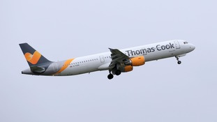 Thomas Cook pilots are staging a 24-hour walk out in a dispute over pay.