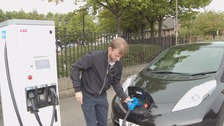 Bradford's new electric car charging point goes live