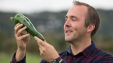 Kevin Fortey broke the world record for the heaviest chilli.