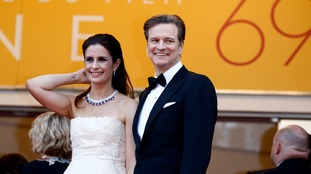 Firth and his wife Livia Giuggioli, who is also taking on British citizenship.