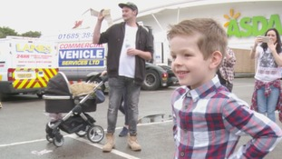 Tour of trucks for lorry-mad Caerphilly boy