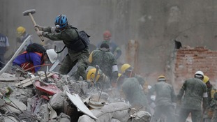 Mexican earthquake death toll reaches over 300