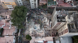 Central Mexico is still being rocked by aftershocks from Tuesday's deadly earthquake.