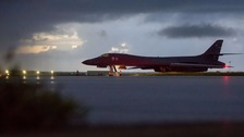 US sends bomber planes past North Korea in show of force