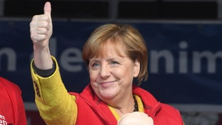 Angela Merkel is expected to win a fourth terms as chancellor.
