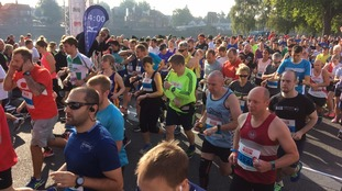 Thousands turn out for Robin Hood Marathon