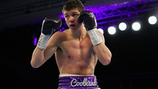 Luke Campbell suffered a narrow defeat.