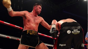 Fury's fury as he comes up short against Parker
