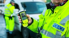 PC suspended after driving over alcohol limit