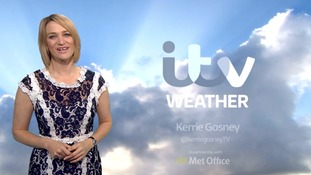 Weather with Kerrie - Sunday into Monday