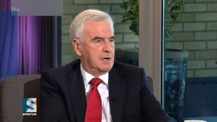 John McDonnell described Uber as a 'disgrace'.