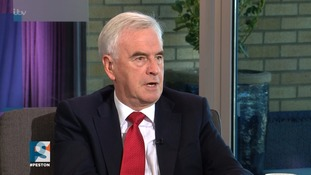 Labour's John McDonnell brands Uber a 'disgrace' over licensing issues
