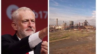 Mr Corbyn highlighted the fate of SSI in Redcar