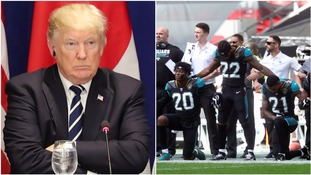 Trump urges NFL fans to boycott games over player protests