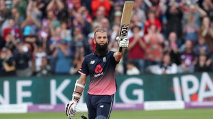 Moeen hits the gas as England rack up the runs against West Indies