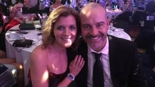 Jane Danson and Robert Beck