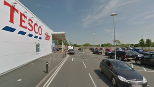 Bottled water can be collected from this Tesco in Madeley.