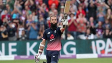 Ali hits second fastest ODI century for England